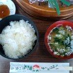 吉川鮮魚店 - ご飯セット(300円)