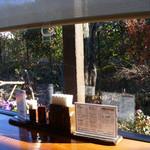蕎麦小屋 つねっさ - つねっさ(カウンター席からの眺め)