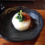 ナイヤビンギ - 大根と宝山寺味噌