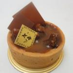 オクトーブル - 料理写真:タルトキャラメル