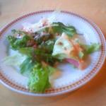23113599 - ランチのサラダ。