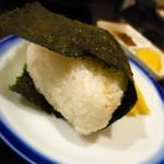 松 - おにぎり(シャケ)200円