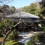 喜泉庵 - 庵の外観です。浄妙寺境内にあります