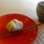 喜泉庵 - 料理写真:美鈴さんの生菓子 「椿」