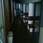 Kuroya - 半個室の店内です。