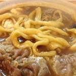 手打うどん 牛コロ 宮内 - この麺好きです