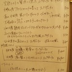トラットリア・アルモ - この日のパスタ(2013年12月)