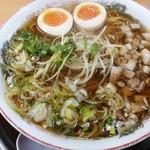 たんぽぽ - 醤油ラーメン(大盛り)
