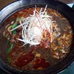 アスリート中華ダイニングYI-CHANG - 黒担々麺