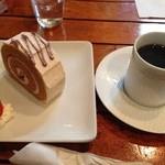 cafe DALI - ケーキセット@580円