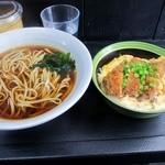 23119817 - ミニカツ丼セット¥700