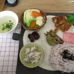 ちゃまま - 料理写真:Cセット(ワンプレートランチスープ付き)