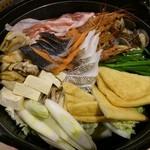 魚や一丁 - 飲放付4000円コース料理2※4人分