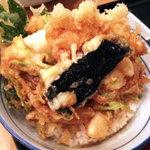 赤沢日帰り温泉館レストラン - かき揚げ丼