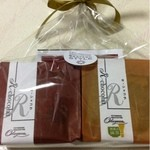 お菓子の店 オカヤス パルティール - かわいいパッケージです。420円 (2013.12現在)