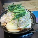 焼肉 いこい - ホルモン鍋 1人前980円。