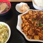 金龍美食 - 日替わり定食|麻婆豆腐(580円)