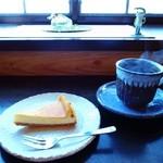 フロッグ カフェ - チーズケーキと珈琲