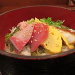魚蔵 - そば御膳の海鮮丼