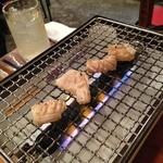博多ホルモン番長 - 上ミノ(塩)