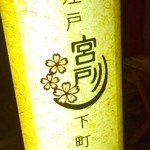 宮戸川 - 下町感いっぱいの看板