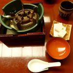 鳥茶屋 - お鍋の用意