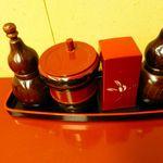 鳥茶屋 - 調味料 なんか名のあるお店の七味の説明を受けたのだけれど、覚えられず(汗)