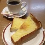 志津屋 - トースト(匠)とホットコーヒー