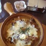 ビーラインカフェ - 焼きチーズカレー