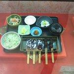 鈴の屋 - 菜めし田楽定食(ショーウインドー)
