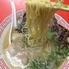 太洋軒 - 料理写真:大牟田では珍しく黄色い極細麺