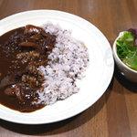 ショコラッタ - ショコラッタ風ハヤシライス ランチセット 720円