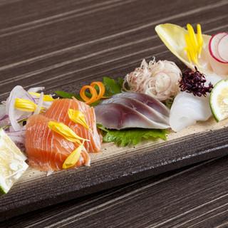 ■五島の新鮮でうまいお寿司が食べられます■