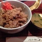 23134292 - 焼肉丼大盛り(600円)