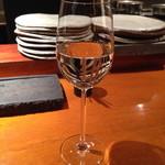 焼鳥 市松 - 中央葡萄酒 グレイス甲州 菱山畑