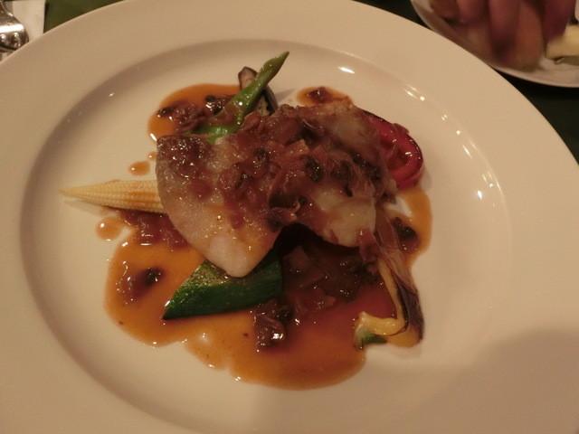 レストラン・ラグーン - 沖タカベのポワレ