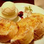 イタリアントマト鍋とオーガニックワインの店 COCOKARA - 【こちらもオススメ】しっとりフワフワ!豆乳フレンチトースト