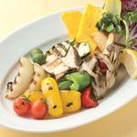 ペッシェドーロ - きのこと野菜のミックスグリル