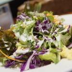ダニーズレストラン - お先のサラダ