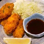 魚&炭焼 だん - 牡蠣フライ(2013年12月撮影)