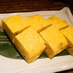 魚&炭焼 だん - だし巻たまご(2013年12月撮影)