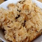 立ち食いうどん 味沢 - 松茸ごはん