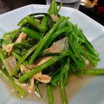 2314865 - 空心菜と湯葉の炒め物