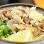 麺処 綿谷 - 肉ぶっかけ