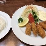 洋食亭ブラームス - 牡蠣フライ