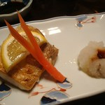 寿し 吉田 - ぶりの塩焼き