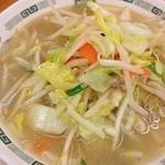 日高屋 - タンメン。野菜モリモリ。