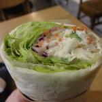 スターバックス・コーヒー - サラダラップ(根菜チキン):290円