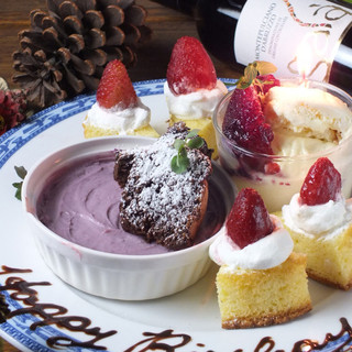 バースデーケーキ承ります☆