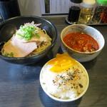 麺屋宗 - 旨辛つけ麺3倍(880円)